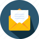 email, envelope, letter, mail, marketing, message, note icon