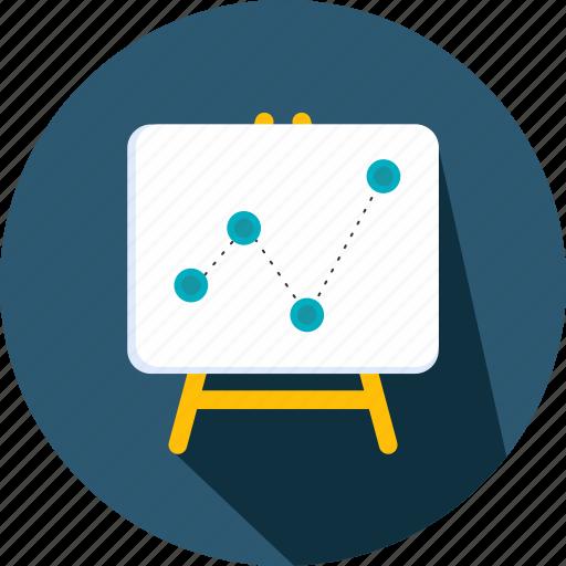 board, education, presentation, projection, school icon