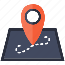 gps, location, locations, pin, placeholder, point, position icon