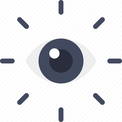 eye, interface, medical, seo, view, visibility, visible icon