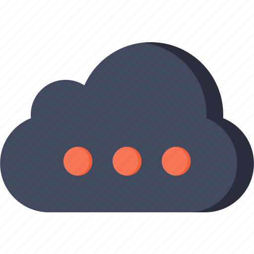 cloud, cloudy, sky, weather icon