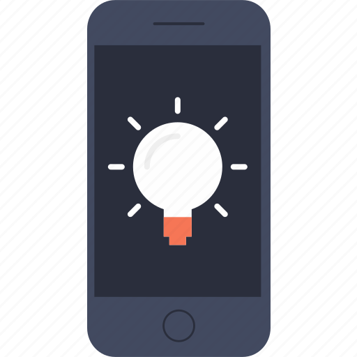 bulb, electricity, idea, illumination, invention, iphone, light icon