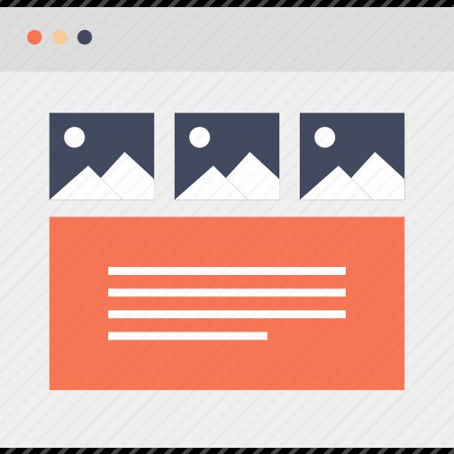 browser, edit, interface, internet, web, website icon