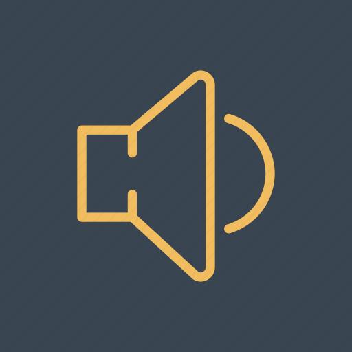 audio, interface, multimedia, sound, speaker, volume icon