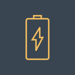 battery, full, level, status, technology icon