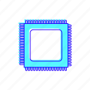 cpu, performance, processor, technology icon