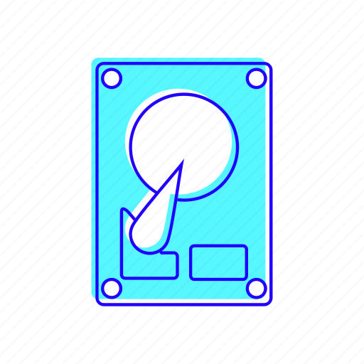 drive, hard drive, harddisk, memory icon