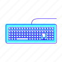 electronic, hey, keyboard, typing icon