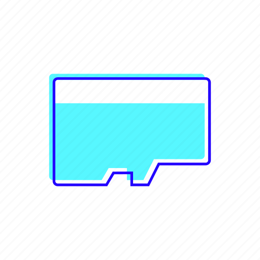card, flash, memory, sdcard icon