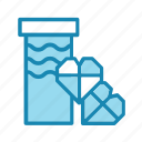birthday, box, gift, hearts, new year, present icon
