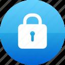 padlock, password, secure, security icon