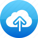 app, cloud, data, guardar, save, upload icon
