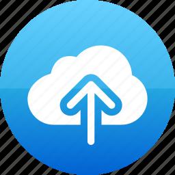 app, cloud, data, guardar, save, upload icon