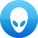 alien, contact icon