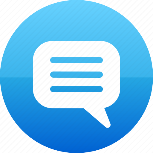 bubble, chat, chatting, comment, speech, text, web icon