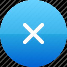 error, reject, x icon