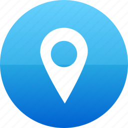 map, navigation, point, pointer icon