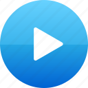 play, video icon