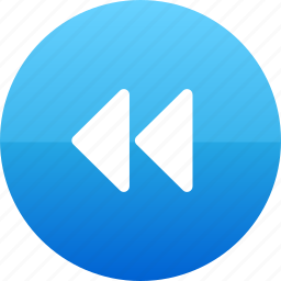 rewind, rewinding, slow icon
