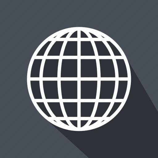 globe, interface, multimedia, signs, world, worldwide icon