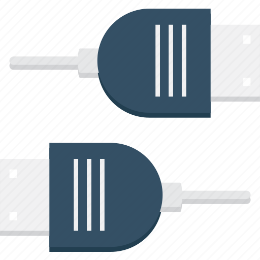 connection, electronics, port, technology, usb icon