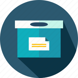 box, business, cardboard, delivery, package, packaging icon