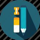 eraser, pencil, school, tool, tools, write, writing