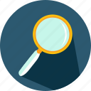 detective, glass, loupe, magnifying, search, zoom