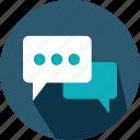 bubble, chat, comment, interface, social, speech, talk