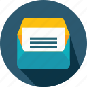 email, envelope, interface, message, note, open, web