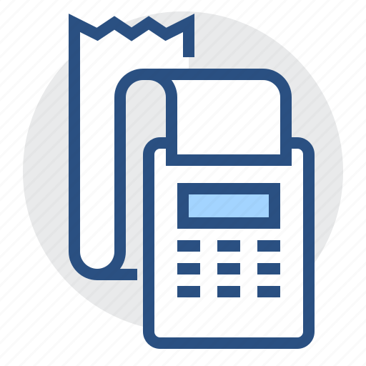 accounting, check, count, finance, machine, payment icon
