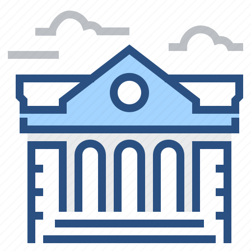 bank, building, business, finance, house, office icon