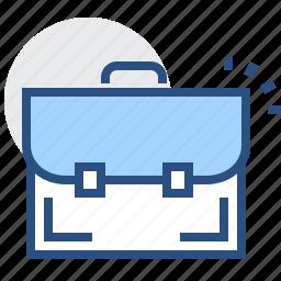 bag, business, case, finance, portfolio, profile icon