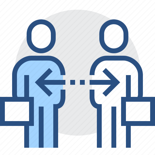 business, commect, man, partnership, people, person icon