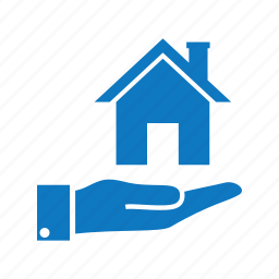 estate, house, loan, real, sell house icon