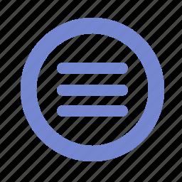 grid, items, list, menu, web icon