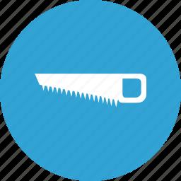 cut, instrument, saw, wood icon