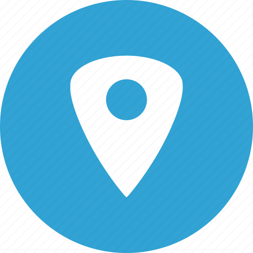 dot, place, point, pointer icon