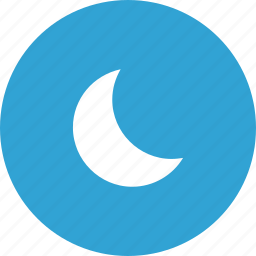 mode, moon, night, space, time icon