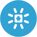 android, loading icon