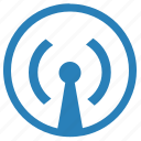 antenna, data, internet, signal, transfer icon