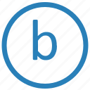 b, keyboard, lowcase, virtual icon