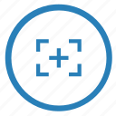 border, camera, frame, photo, shot icon