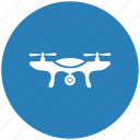 camera, drone, flight, robot, view icon
