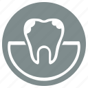 care, caries, dental, mouth, stomatology, tooth icon