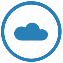cloud, innovation, server, technology icon