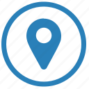 geo, location, point, tag icon