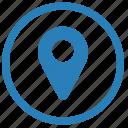 geo, location, point, tag icon