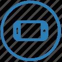 horizontal, mobile, mode, orientation, preview, view icon