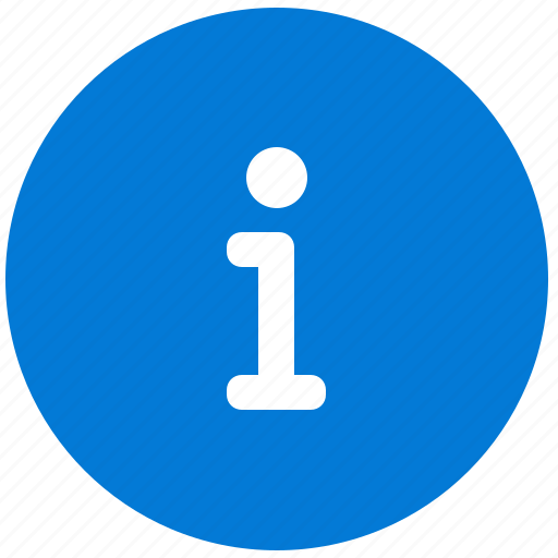 data, help, i, info, information, round icon